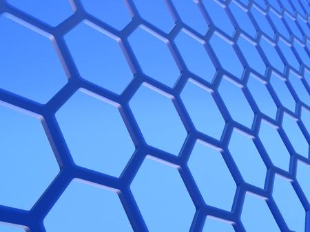 grafito: El grafeno. Red cristalina hexagonal de dos dimensiones formadas por una capa de átomos de carbono en el espesor de un átomo.