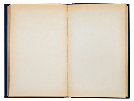 libros abiertos: Abra el libro aislada sobre fondo blanco
