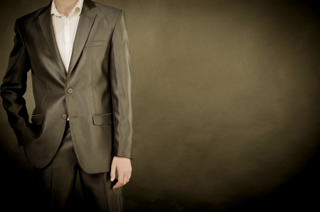 man in suit photo