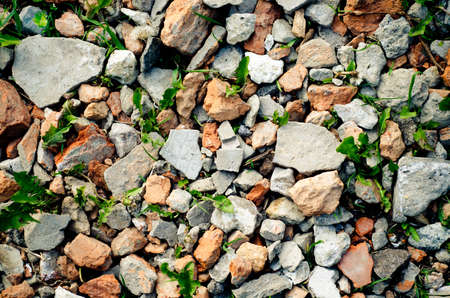 background made of a lot of stones photo