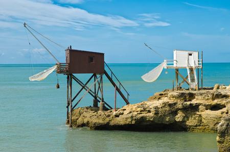palais: Fishing hut in saint palais sur mer
