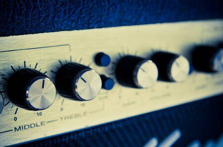 estudio de grabacion: Equipo amplificador Estudio con deslizadores
