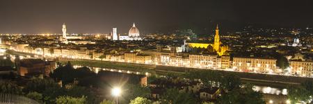 panorama of Florence, Tuscany, Italy Stock Photo