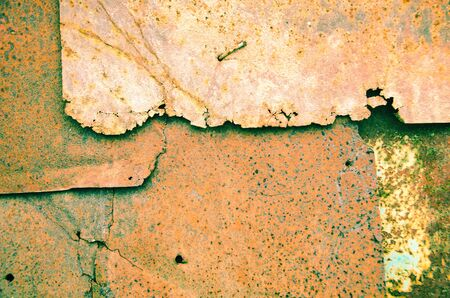 old rusty metal as a background
