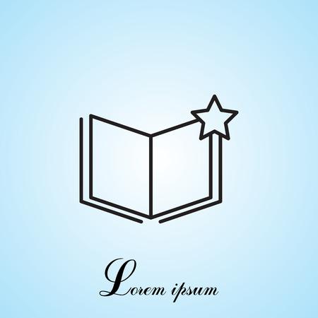 addendum: Vector Favorite Document Icon