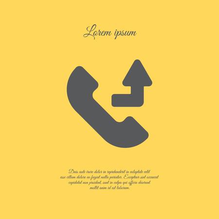 forwarding: Web icon. Calls forwarded