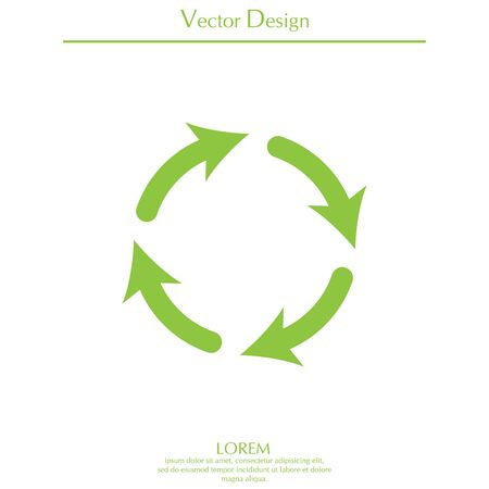 refreshed: Vector update icon