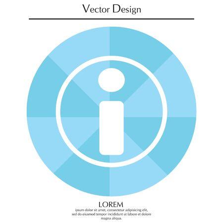 Information icon Illustration