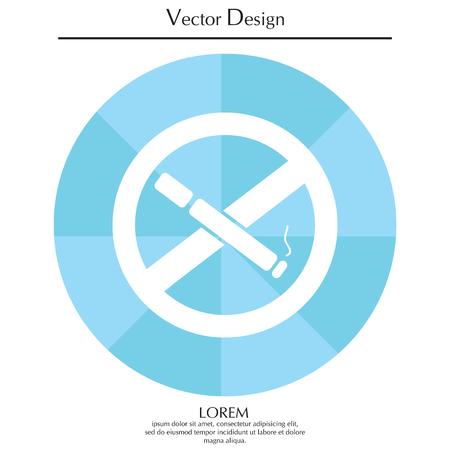 No smoking sign vector Illustration