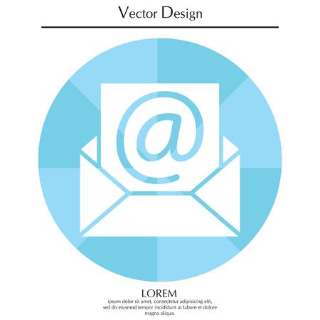 E-mail icon. Vector illustration