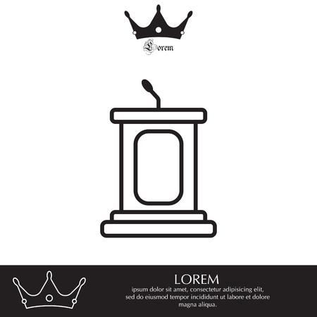 tribune: tribune icon