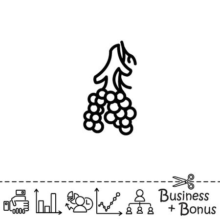 Web line icon. Alveolus