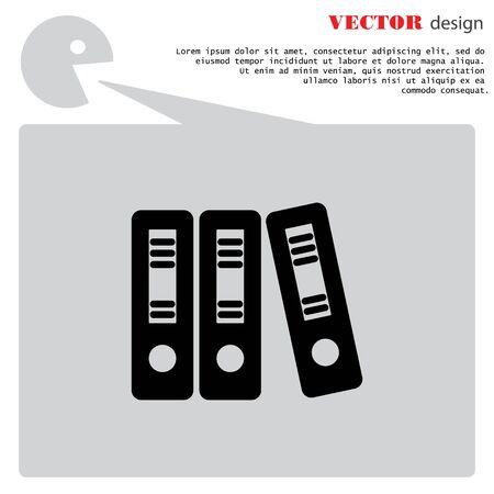 documentation: Web line icon. Business; Sigregators (folder, catalog)