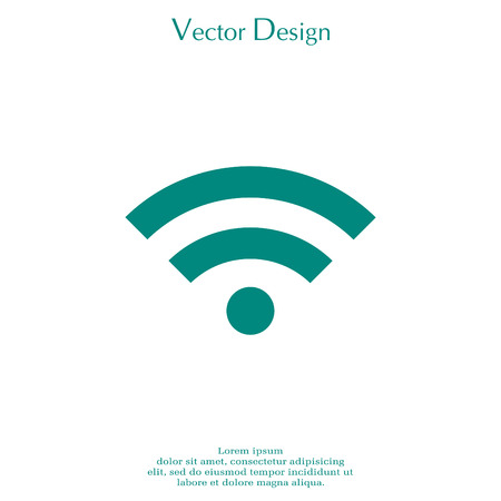 Illustration of a Wi-Fi Icon.