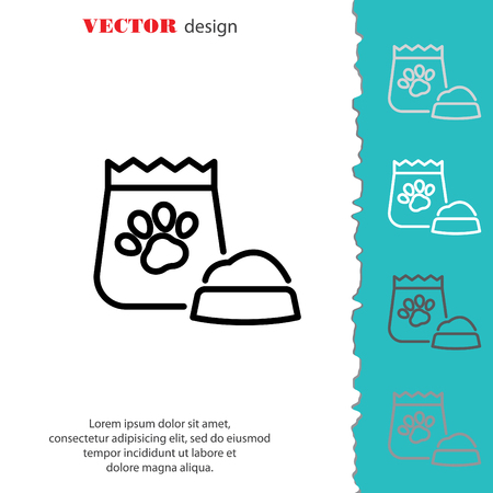 Web Line Icon Pet Food Royalty Free Cliparts Vectors And Stock