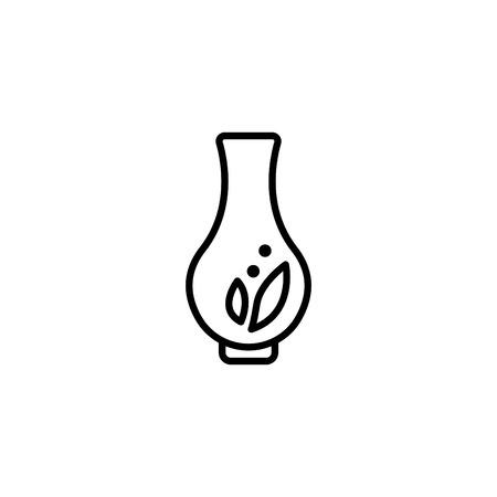 Web line icon. Vase. 일러스트