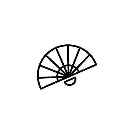 Web line icon. Veer, fan.