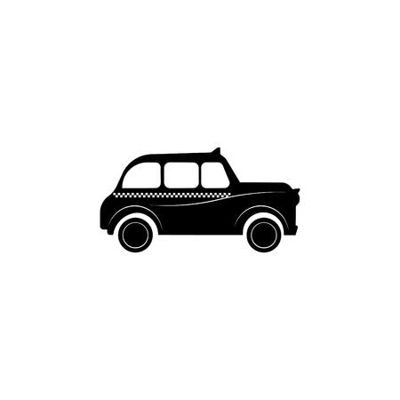London taxi icon. Illustration