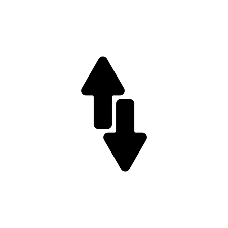 Web line icon, arrows up-down.