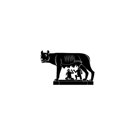 Capitol wolf, she-wolf, Romulus and Remus.