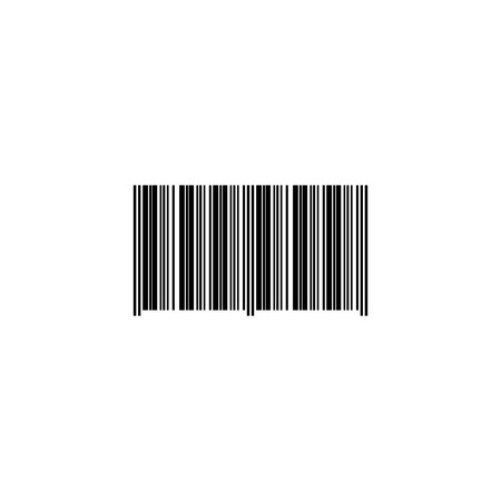Web icon, bar code, ID symbol, product ID. Illustration