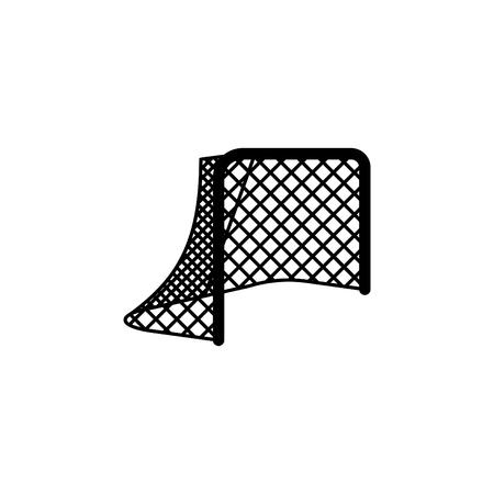 Hockey net or gates icon.