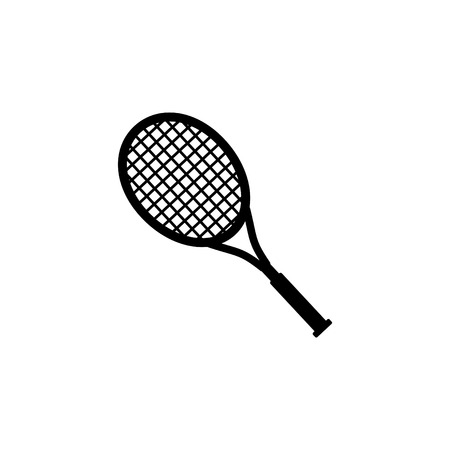 Tennis racket icon.