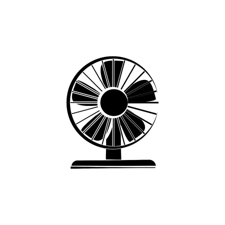 Electric fan icon.