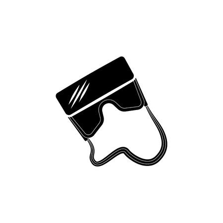 Virtual reality glasses icon.
