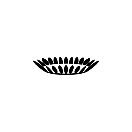 Gas burner icon. vector design.