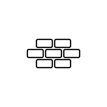 Bricks icon Иллюстрация