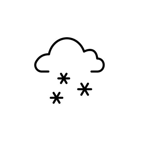 Snow icon  vector illustration