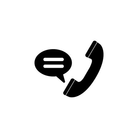Telefoonhoorn vector pictogram.