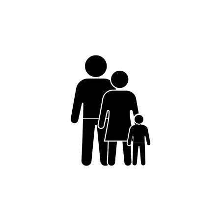 family Icon. vector illustration Vectores