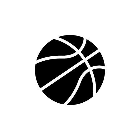 basketball icon. vector illustration Иллюстрация