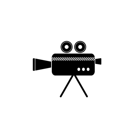 Cinema camera icon. Vector illustration