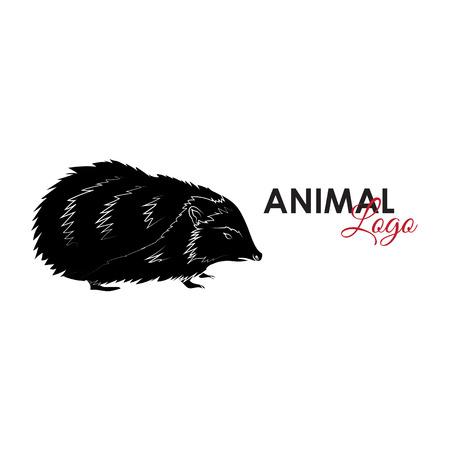 Hedgehog icon logo symbol Ilustrace