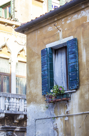 Houses in Venice. Venetian streets