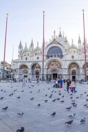 St. Marks Cathedral in Venice Editorial