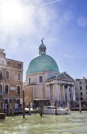 San Simeon Piccolo Church in Venice