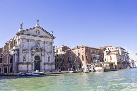San Stae (Church of St. Eustache and his Companions) in Venice