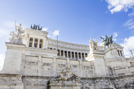 Monument to Victor Emmanuel II (Vittoriano) in Rome