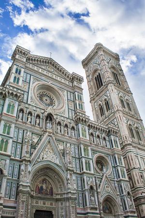 Cathedral Santa Maria del Fiore in Florence 写真素材