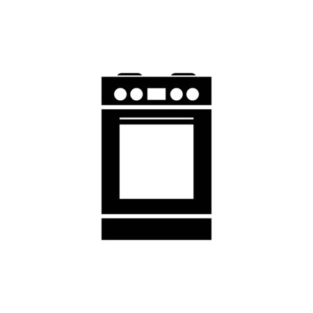 stove with oven vector icon