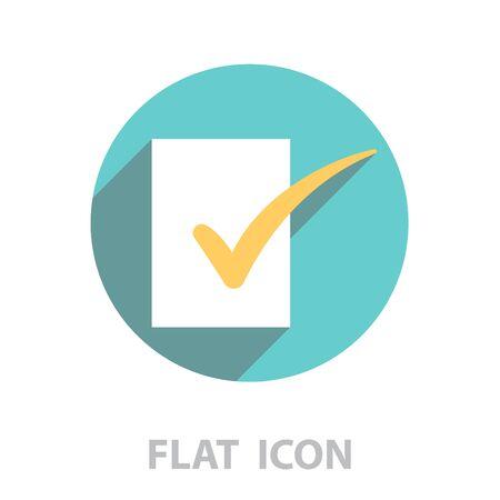 To-Do Icon. vector illustration Illustration