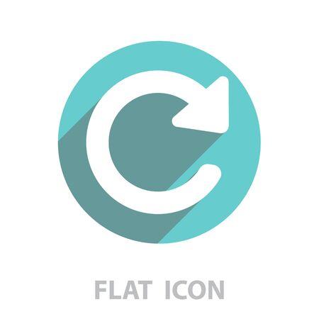 Update icon. Refresh symbol Illustration