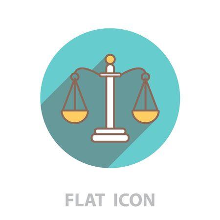 Balance (Scales) line icon