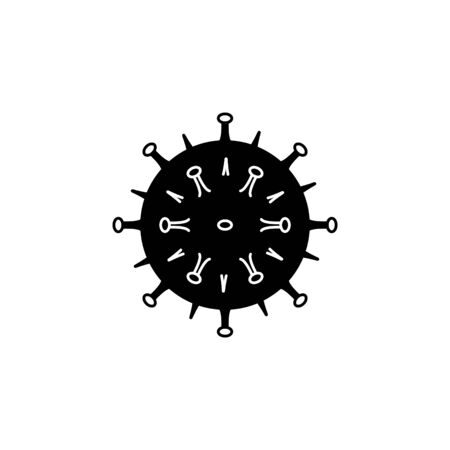 Coronavirus  icon. Bacterium sign. Virus symbol