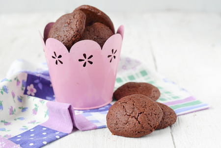 mascarpone: chocolate cookies with a stuffing from mascarpone and coconut