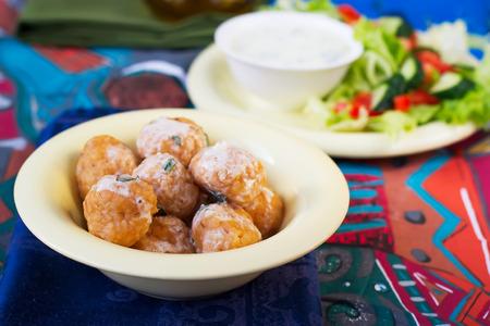 oriental cuisine: meatballs from bulgur - Oriental cuisine